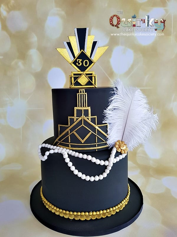 Great Gatsby Cake The Quirky Cake Society