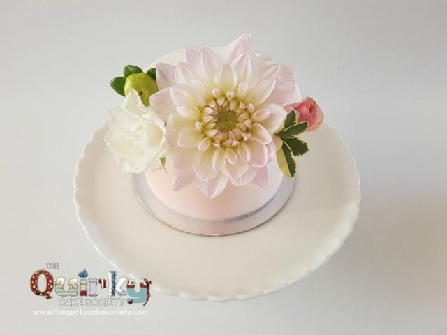 Dahlia dream Buttercream cake