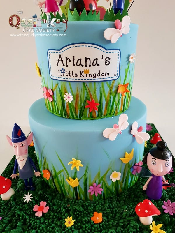 Ben And Holly Cake The Quirky Cake Society