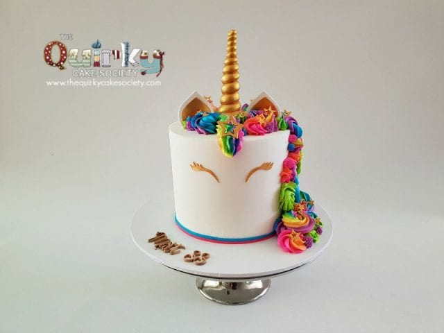 Rainbow Unicorn cake (Matt)