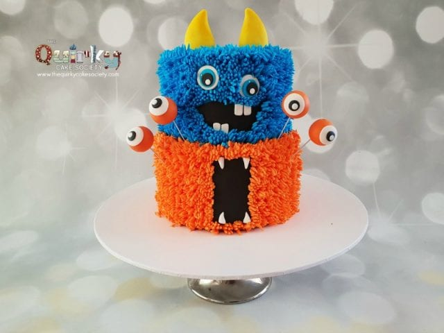 Monster Buttercream Cake