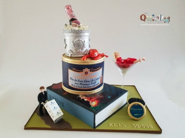 Finer things in Life cake