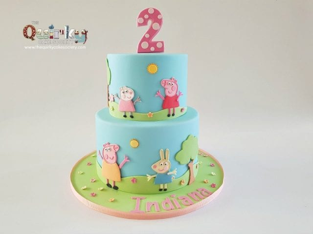 Peppa Pig and Friends Cake