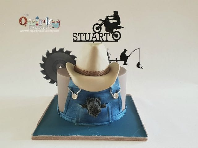 Men and their Toys cake