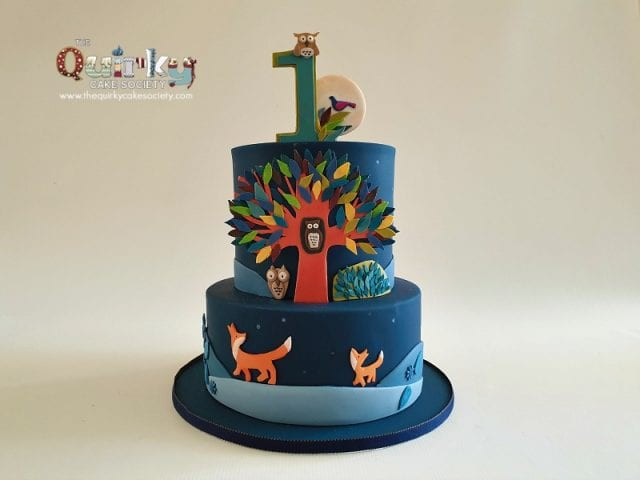 The Tree Book Cake