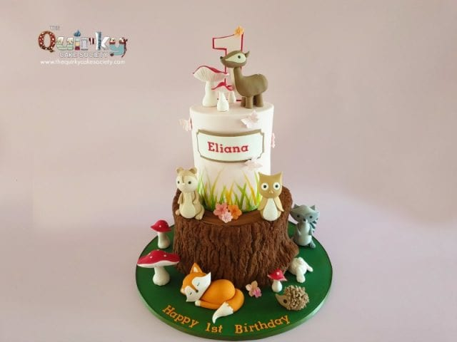 Woodlands Critters Cake