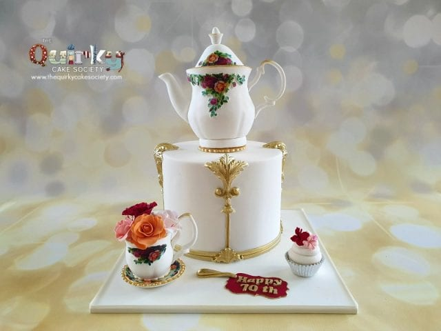 High Tea Teapot cake