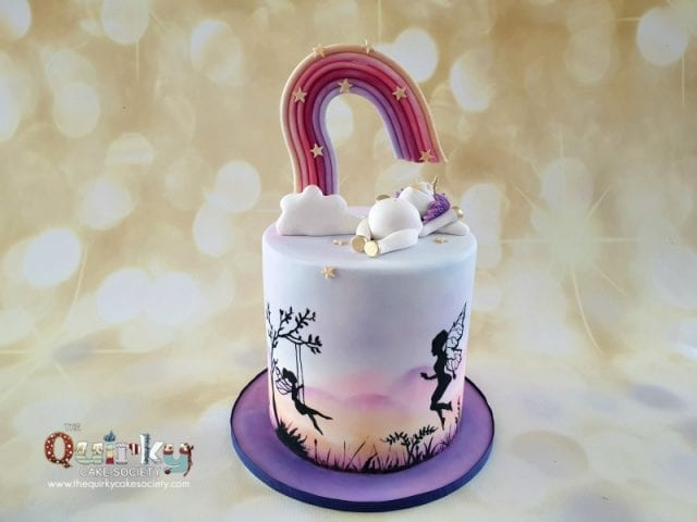 Hungry Unicorn, rainbow and fairies cakes