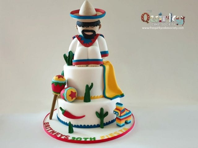 Mexican Fiesta Cake