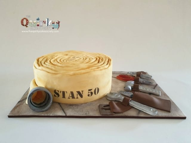 Fireman and Tradesman Cake